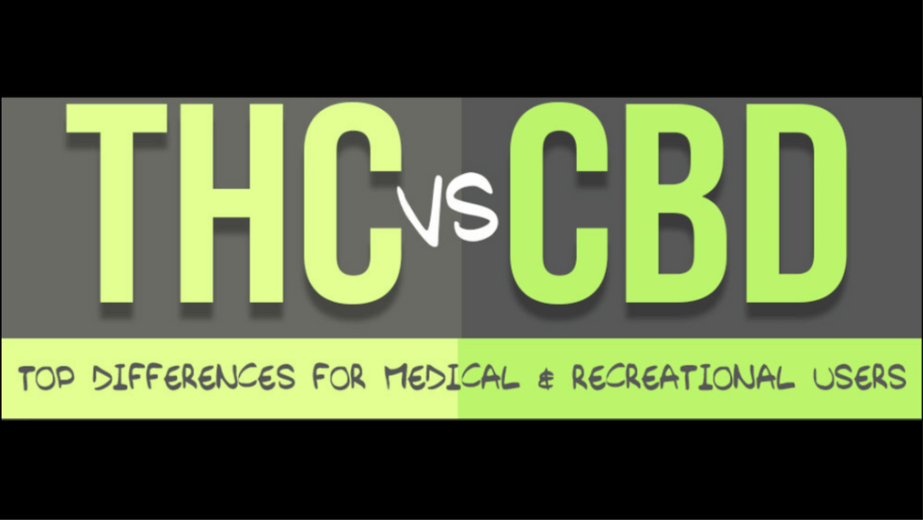 THC versus CBD, what's the difference?